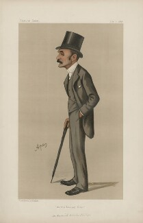 Francis Charles Philips ('Men of the Day. No. 405.'), by Carlo Pellegrini - NPG D44393