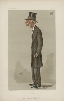 George Frederick Upton, 3rd Viscount Templetown ('Men of the Day. No. 408. '), by Carlo Pellegrini - NPG D44399
