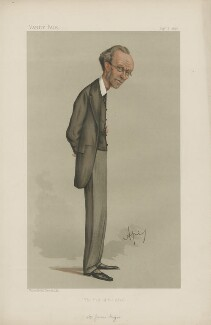 James Payn ('Men of the Day. No. 409.'), by Carlo Pellegrini - NPG D44402