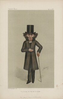 Hugh Reginald Haweis ('Men of the Day, No. 410.'), by Carlo Pellegrini - NPG D44404