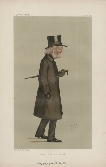 George Granville Bradley ('Men of the Day. No. 411.'), by Sir Leslie Ward - NPG D44405