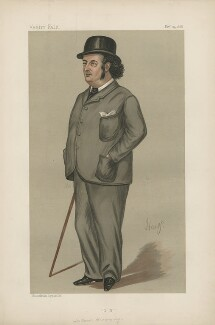 Oscar Browning ('Men of the Day. No. 414'), by 'Hay' - NPG D44413