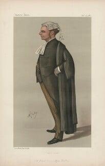 Robert Bannatyne Finlay, 1st Viscount Finlay ('Statesmen. No. 555.'), by Carlo Pellegrini - NPG D44416