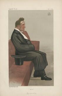 Edmund Beckett (né Edmund Beckett Denison), 1st Baron Grimthorpe ('Statesmen. no. 559.'), by Sir Leslie Ward - NPG D44423