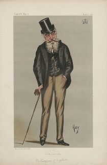 Henry Francis Seymour, 3rd Marquess of Drogheda ('Statesmen. No. 564.'), by 'Hay' - NPG D44431