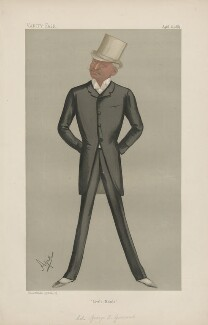 George Edward Gouraud ('Men of the Day. No. 421.'), by Carlo Pellegrini - NPG D44433
