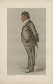 Hon. George Higginson Allsopp ('Statesmen. No. 566.'), by Liborio Prosperi ('Lib') - NPG D44434
