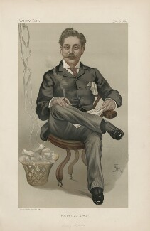 Harry Hananel Marks ('Men of the Day. No. 428.'), by Arthur H Marks ('AJM') - NPG D44441