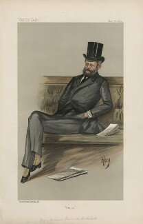 Ferdinand James Anselm de Rothschild, Baron de Rothschild ('Statesmen. No. 567'), by 'Hay' - NPG D44442