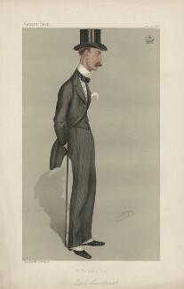 William Mansfield, 1st Viscount Sandhurst ('Statesmen. No. 568.'), by Sir Leslie Ward - NPG D44443