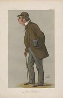 Major George Mark Leycester Egerton ('Major Egerton') ('Men of the Day. No. 437.'), by Liborio Prosperi ('Lib') - NPG D44452