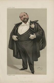 Sir Augustus Henry Glossop Harris ('Men of the Day. No. 441.'), by Sir Leslie Ward - NPG D44457