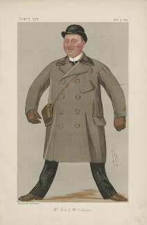 Harry Leslie Blundell McCalmont ('Men of the Day. No. 442.'), by Sir Leslie Ward - NPG D44458
