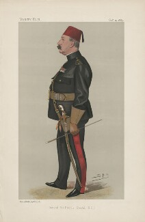 Francis Wallace Grenfell, 1st Baron Grenfell ('Men of the Day. No. 444.'), by Sir Leslie Ward - NPG D44460