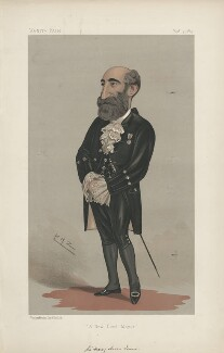 Sir Henry Aaron Isaacs ('Men of the Day. No. 447.'), by Sir Leslie Ward - NPG D44463