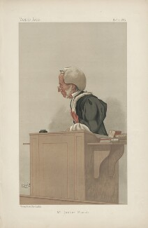 Sir Henry Manisty ('Men of the Day. No. 450.'), by Sir John Paget Mellor, 1st Bt - NPG D44466