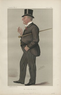 Alexander Meyrick Broadley ('Men of the Day. No. 452.'), by Sir Leslie Ward - NPG D44468