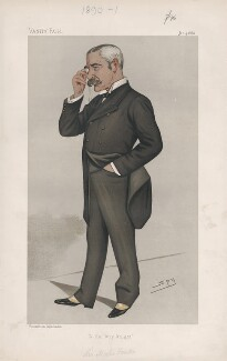 Sir Myles Fenton ('Men of the Day. No. 455.'), by Sir Leslie Ward - NPG D44471