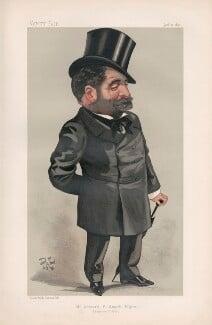 Edward Frederick Smyth Pigott ('Men of the Day. No. 456.'), by Jean de Paleologu '(PAL') - NPG D44472