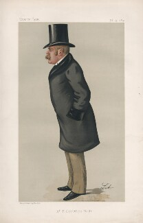 Sir Francis Carruthers Gould ('F.C.G.') ('Men of the Day. No. 461.'), by Liborio Prosperi ('Lib') - NPG D44478