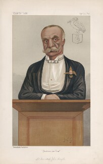Bernard John Angle ('Men of the Day. No. 466.'), by Sir Francis Carruthers Gould ('F.C.G.') - NPG D44484