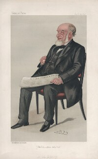 Sir John Jaffray, 1st Bt ('Men of the Day. No. 467.'), by Sir Leslie Ward - NPG D44486