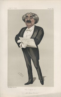 (John) Sims Reeves ('Men of the Day. No. 469.'), by Sir Leslie Ward - NPG D44489