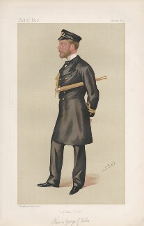 King George V ('Princes. No. 12.'), by Sir Leslie Ward - NPG D44491