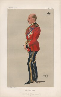 Prince Arthur, 1st Duke of Connaught and Strathearn ('Princes. No. 13.'), by Sir Leslie Ward - NPG D44501
