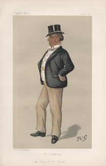 Henry Lorton Bourke ('Men of the Day. No. 480.'), by Sir Francis Carruthers Gould ('F.C.G.') - NPG D44505