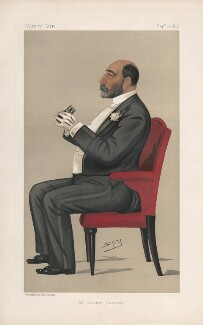 Reuben David Sassoon ('Men of the Day. No. 483.'), by Sir Leslie Ward - NPG D44508