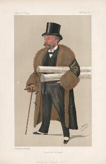 Richard D'Oyly Carte ('Men of the Day. No. 498.'), by Sir Leslie Ward - NPG D44529