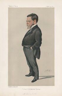 Sir Charles Scotter. 1st Bt ('Men of the Day. No. 504.'), by Sir Leslie Ward - NPG D44536