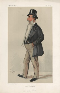 Sir John Aird, 1st Bt ('Statesmen. No. 579.'), by Sir Leslie Ward - NPG D44547