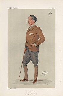 Edward Cecil Guinness, 1st Earl of Iveagh ('Men of the Day. No. 511.'), by Sir Leslie Ward - NPG D44550