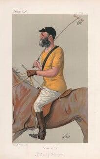 Charles Stanhope, 8th Earl of Harrington ('Statesmen. No. 583.'), by Liborio Prosperi ('Lib') - NPG D44560