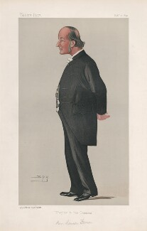 Frederic William Farrar ('Men of the Day. No. 520.'), by Sir Leslie Ward - NPG D44563