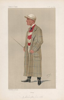 (Herbert) Mornington ('Morny') Cannon ('Men of the Day. No. 521.'), by Sir Leslie Ward - NPG D44565