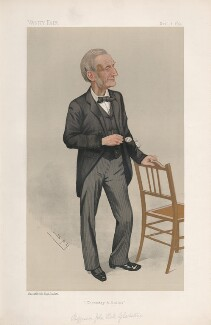 John Hall Gladstone ('Men of the Day. No. 523.'), by Sir Leslie Ward - NPG D44568