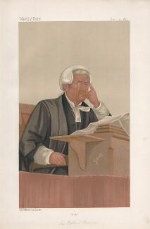 Sir Robert Romer ('Judges. No. 35.'), by Harold Wright ('Stuff') - NPG D44572