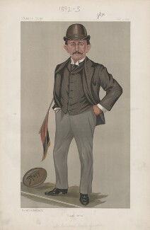 (Edward) Temple Gurdon ('Men of the Day. No. 527.'), by Harold Wright ('Stuff') - NPG D44575
