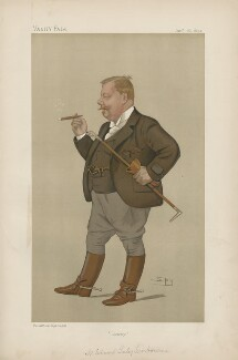 Linley Sambourne ('Men of the Day. No. 528.'), by Sir Leslie Ward - NPG D44577