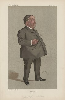 Jabez Spencer Balfour ('Statesmen. No. 587.'), by Sir Leslie Ward - NPG D44586