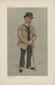 Thomas Hardy ('Men of the Day. No. 540.'), by Sir Leslie Ward - NPG D44597