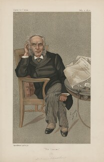 Francis Schnadhorst ('Men of the Day. No. 542.'), by Harold Wright ('Stuff') - NPG D44601