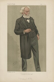 Sir Samuel Wilks, 1st Bt ('Men of the Day. No. 548.'), by Sir Leslie Ward - NPG D44614