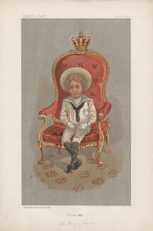 Alfonso XIII, King of Spain ('Sovereigns. No. 20.'), by Unknown artist - NPG D44630