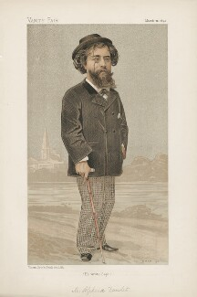 Alphonse Daudet ('Men of the Day. No. 558.'), by Jean Baptiste Guth ('GUTH') - NPG D44637