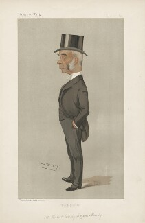 Lord Herbert Hardy Cozens-Hardy, 1st Bt ('Men of the Day. No. 562.'), by Sir Leslie Ward - NPG D44642