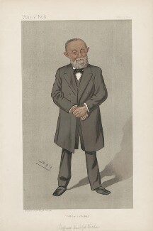 Rudolf Ludwig Karl Virchow ('Men of the Day. No. 565.'), by Sir Leslie Ward - NPG D44648
